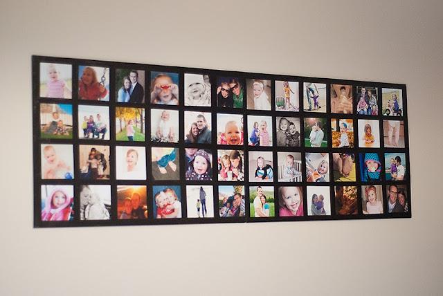 Como fazer um porta retrato com eva 12 modelos for Como hacer un cuadro con fotos familiares