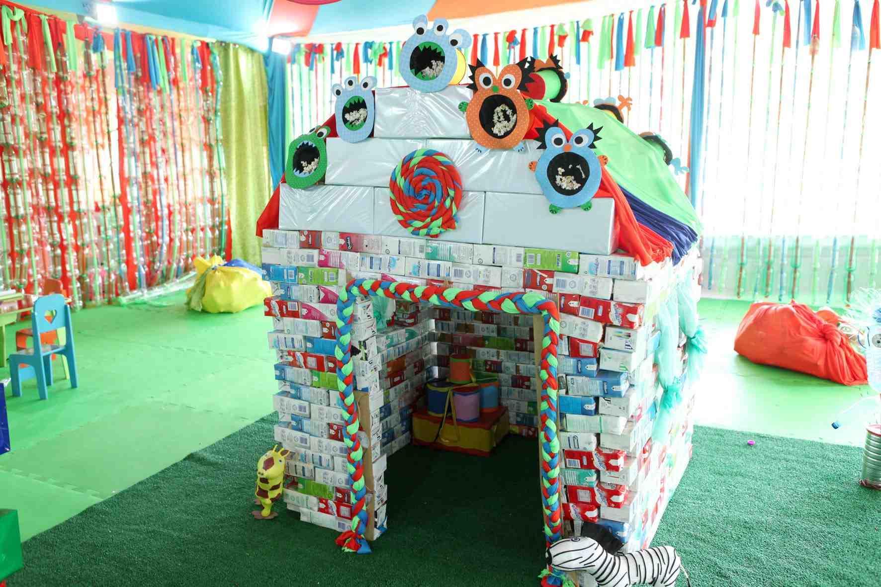 Brinquedos com material reciclado 14