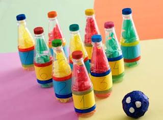 Brinquedos com material reciclado 15