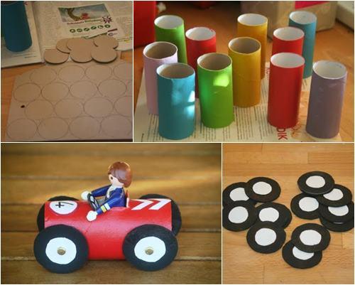 Brinquedos com material reciclado 7