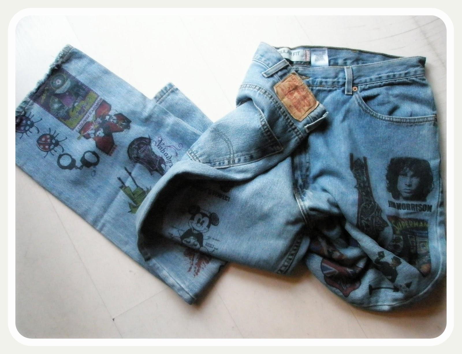 Calça jeans personalizada 6
