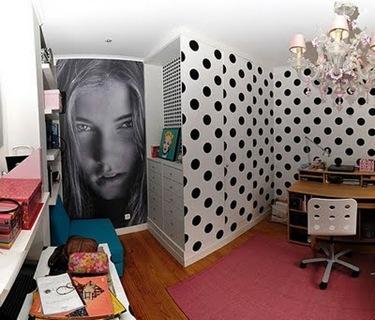 Decorar paredes com papel adesivo 2