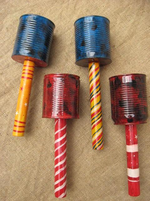 Instrumentos musicais de material reciclado 09