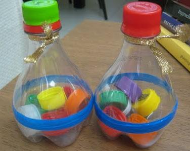 Instrumentos musicais de material reciclado 11