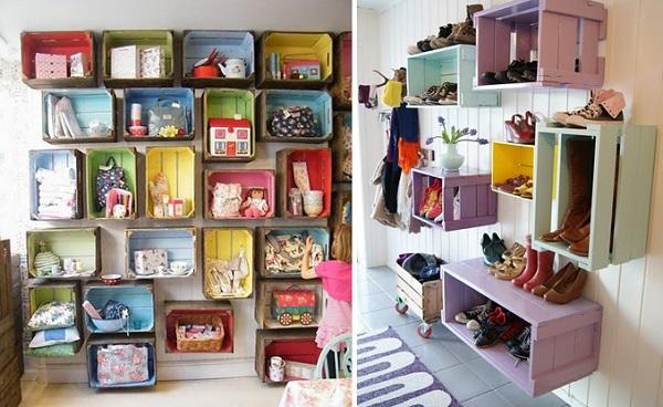Objetos artesanais para sala 13