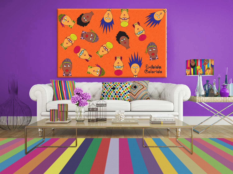 Objetos Artesanais Para Sala -> Como Decorar Parede De Sala Com Material Reciclados