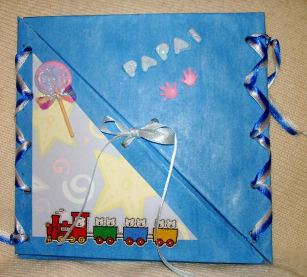 Presente criativo para o Dia dos Pais cartão 1