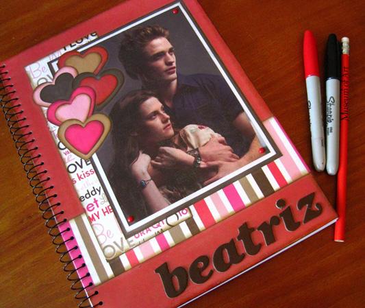 Como customizar cadernos de forma criativa 02