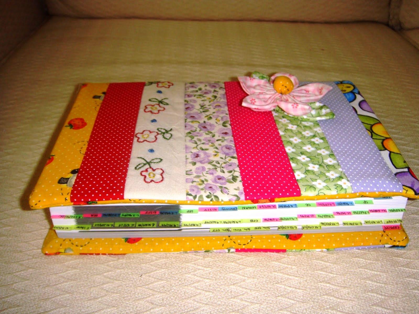 Como fazer bolsa para livro em tecido 04