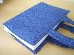 Como fazer bolsa para livro em tecido