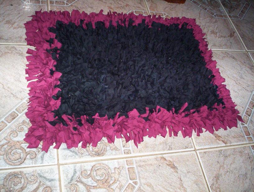 Como fazer tapete de retalhos 02