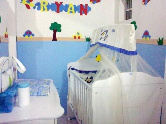 Decorando quarto de bebê com EVA
