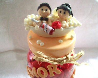 Lembranças de casamento em biscuit 03