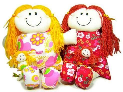 Como fazer boneca de pano 12