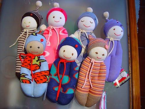 Como fazer boneca de pano 18