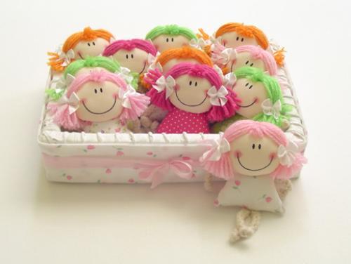 Como fazer boneca de pano 19