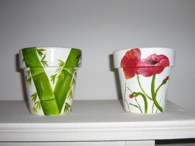 Como pintar vasos de cerâmica 03