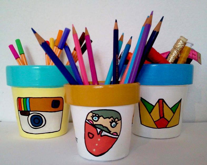 Como pintar vasos de cerâmica 12
