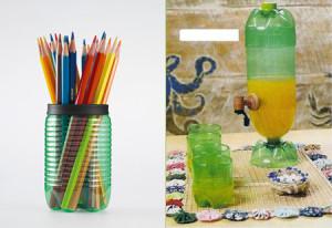 Dicas para reutilizar material reciclado 00