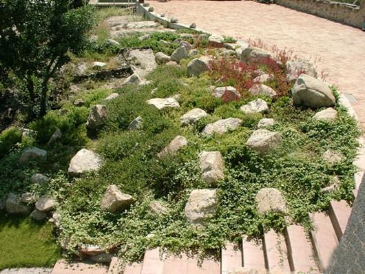 Jardins decorados com pedras 17