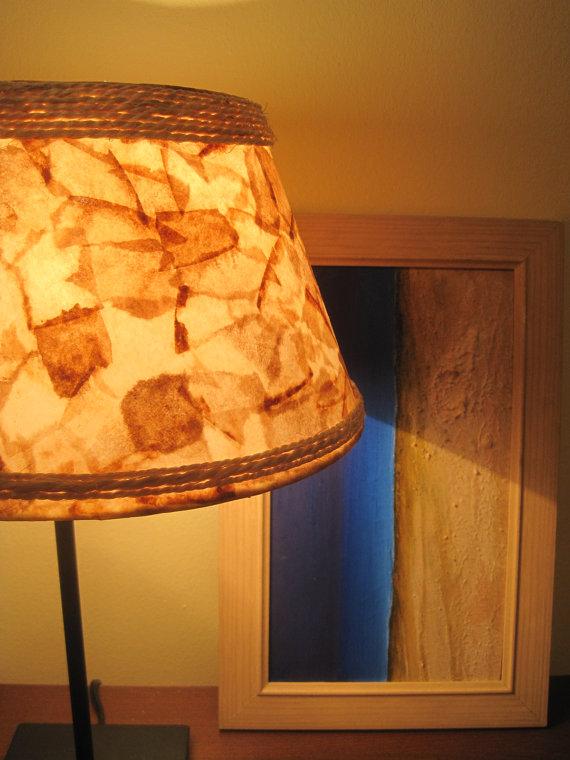 Luminária com filtro de café 02
