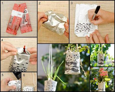 Vasos artesanais para seu jardim 00