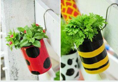 Vasos artesanais para seu jardim 15