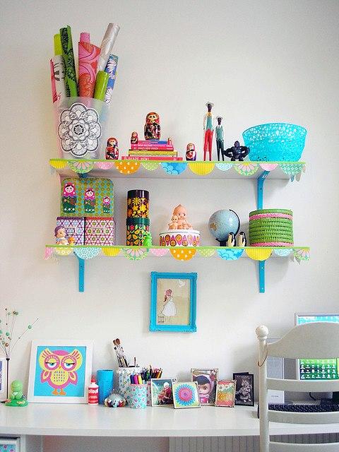 Como fazer estantes artesanais 11