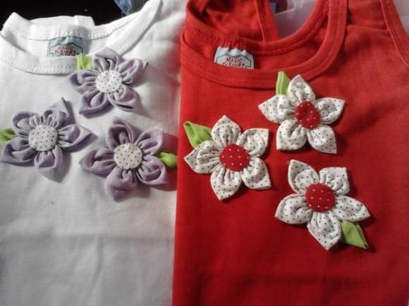 Como fazer flores de fuxico 11 (Custom)