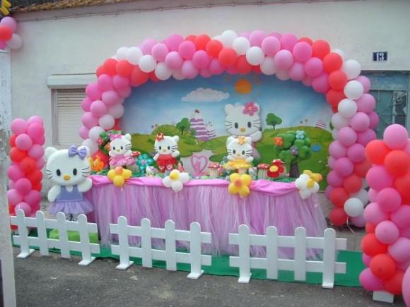 Decorar festa infantil com balões 002