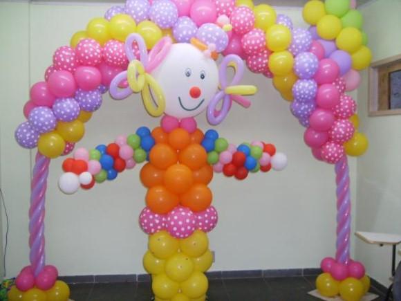 Decorar festa infantil com balões 006