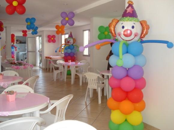 Decorar festa infantil com balões 007
