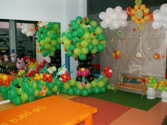 Decorar festa infantil com balões 008