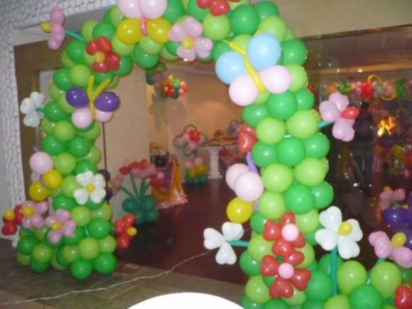 Decorar festa infantil com balões 009