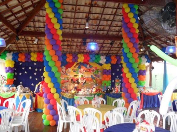 Decorar festa infantil com balões 011