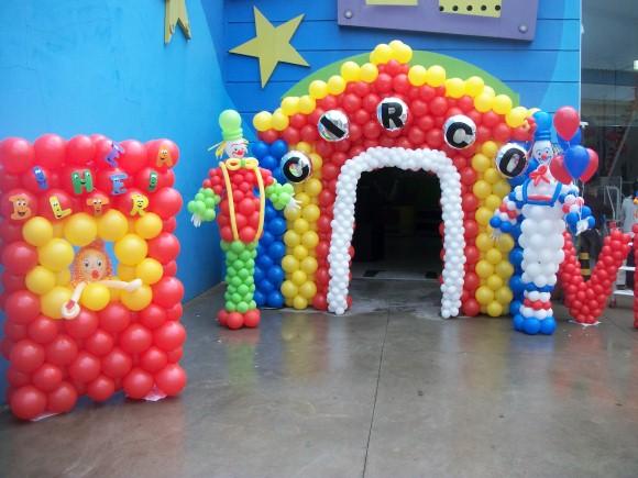 Decorar festa infantil com balões 012