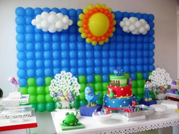 Decorar festa infantil com balões 013