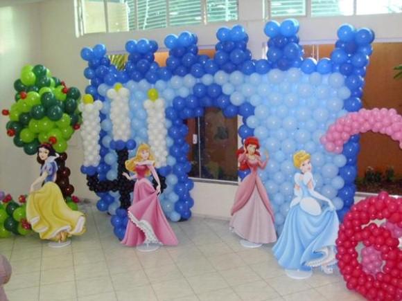 Decorar festa infantil com balões 014