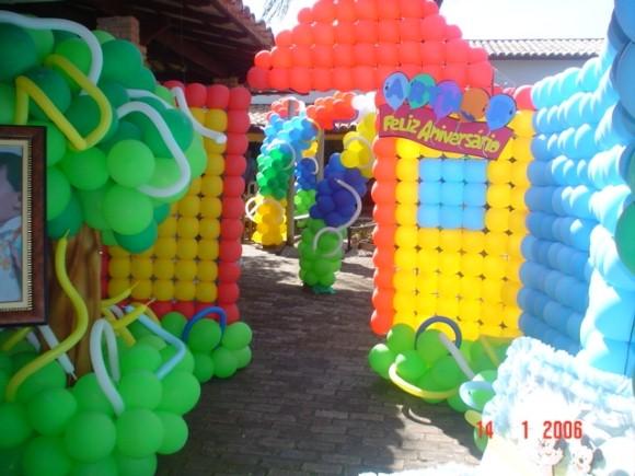 Decorar festa infantil com balões 015