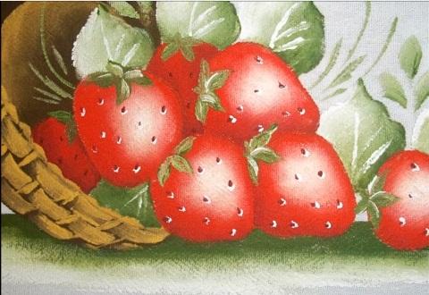 Pintura em pano de prato 02