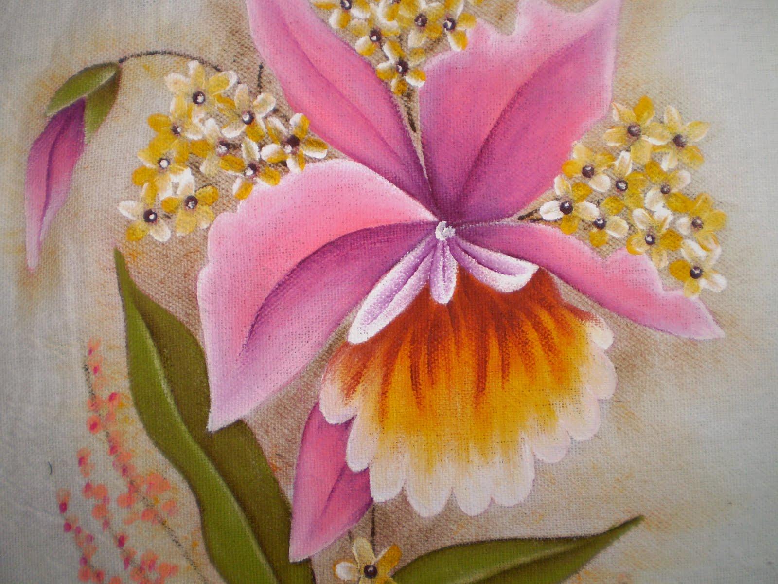 Pintura em pano de prato 03