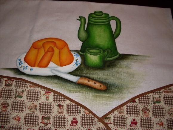 Pintura em pano de prato 18