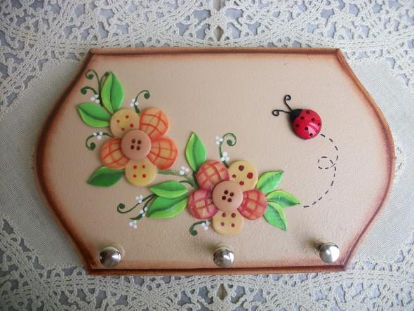 Porta chaves artesanal 03 (Custom)