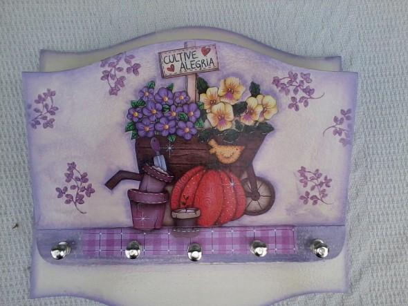 Porta chaves artesanal 10 (Custom)