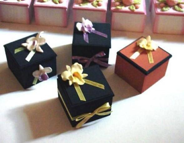 Caixas de MDF enfeitadas com biscuit 07