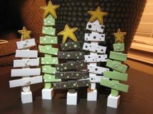 Como fazer árvore de natal artesanal 001
