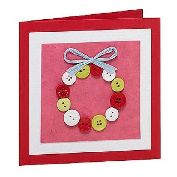 Como fazer cartão de natal artesanal 004