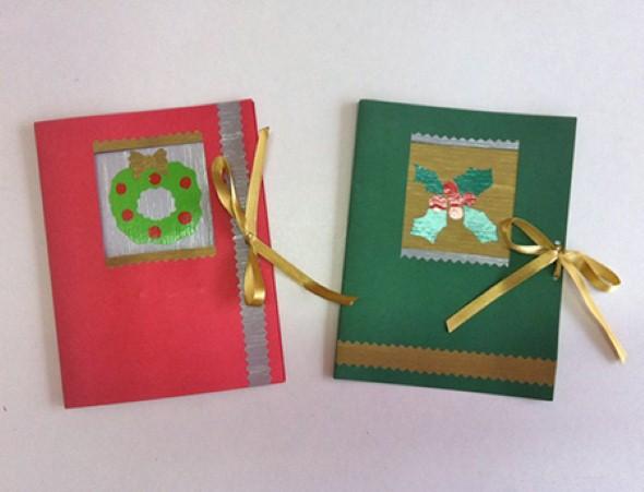Como fazer cartão de natal artesanal 007