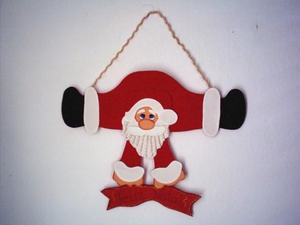 Dicas para fazer Papai Noel em EVA 006