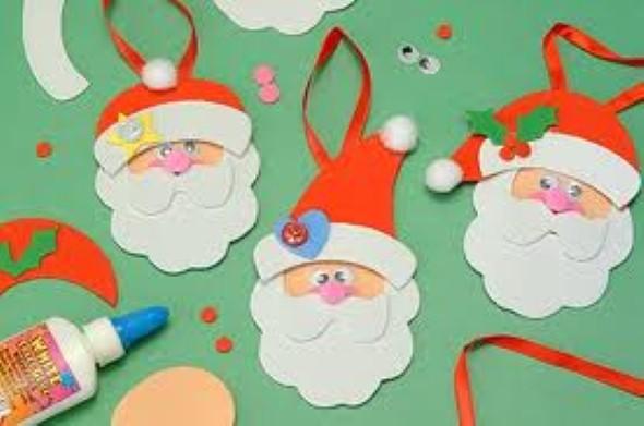 Como fazer papai noel em eva for Decoracion navidena para ninos